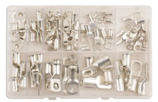 Connect 31884 Assorted Copper Tube Terminals Box Qty 80